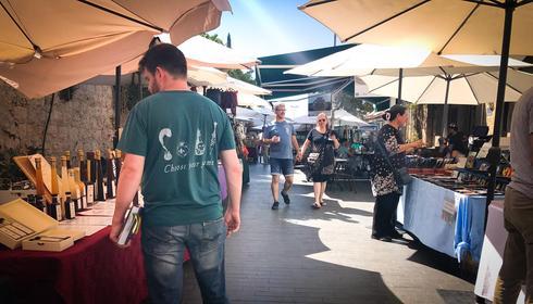 שוק האמנים במדרחוב בצלאל