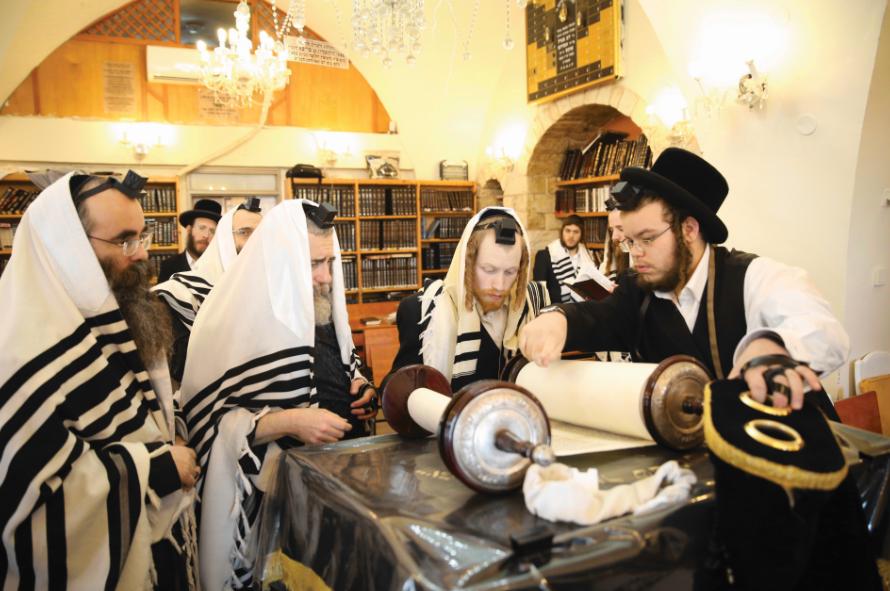קורונה גם בבית הכנסת