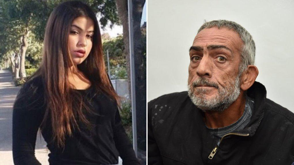 החשוד מאג'ד עלייאן והנערה מרים פרץ ז״ל