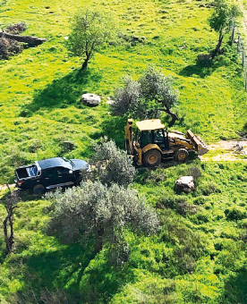 העבודות בעמק הזיתים