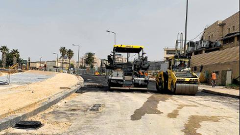 הכביש החדש ברמת דניה