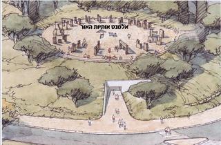 כך תיראה הכיכר החדשה ליד הספרייה הלאומית בירושלים