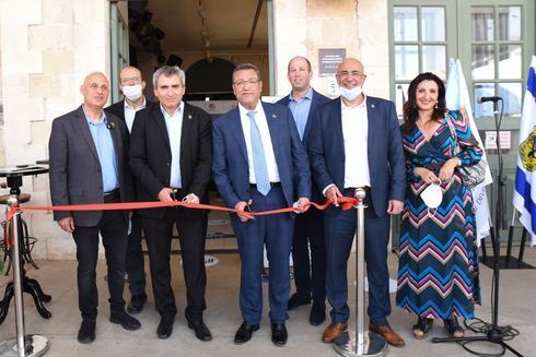 חניכת מרכז הסיוע לבעלי עסקים בירושלים