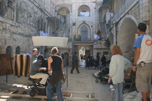 צילומי סרט בירושלים