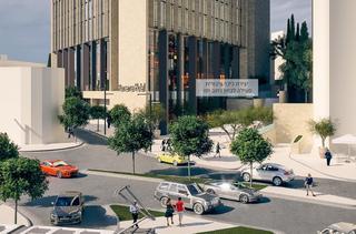 כך ייראה המלון החדש בכניסה לעיר