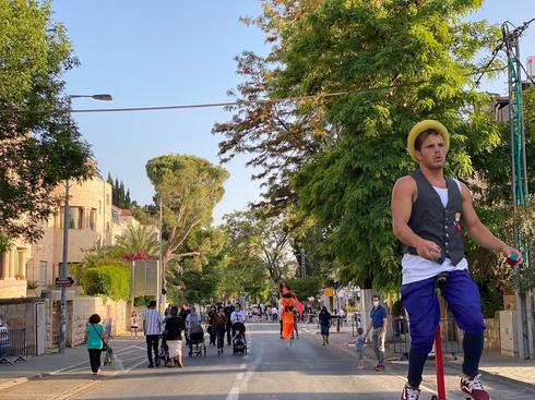 פרויקט 'עיר המדרחובים' ברחוב הלל