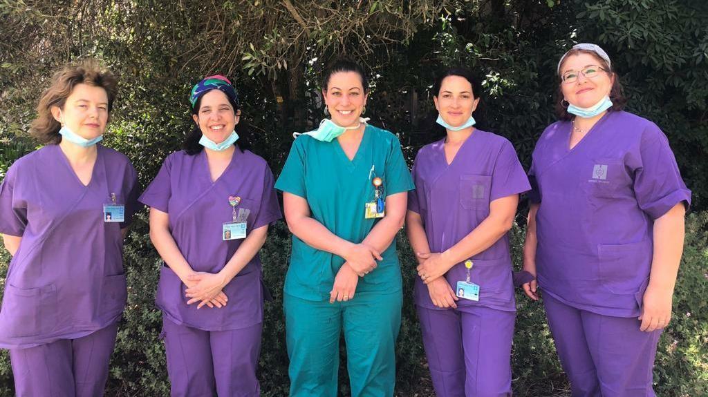 צוות מרפאת לידה מתקנת