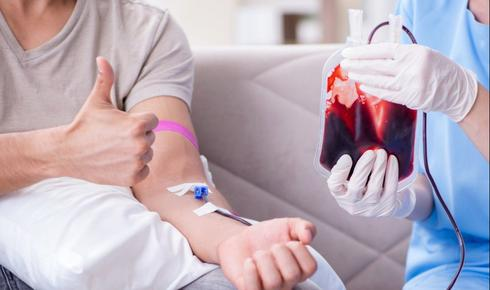 בואו לתרום דם