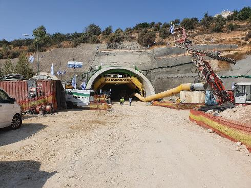 המנהרה החדשה בכביש 60