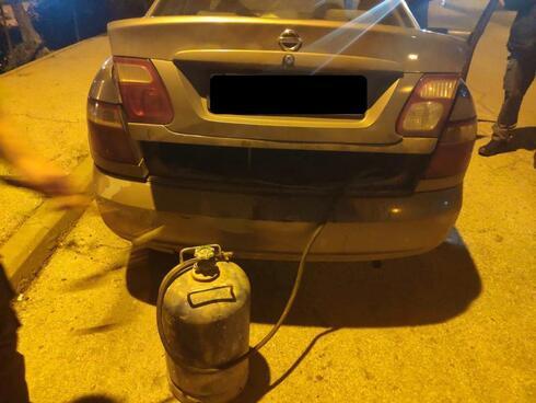 רכבו של מוכר הגז
