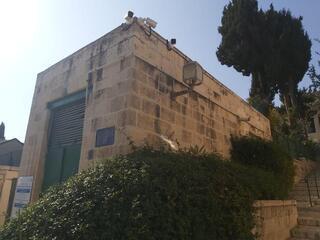 מצלמות האבטחה שהוצבו בימין משה