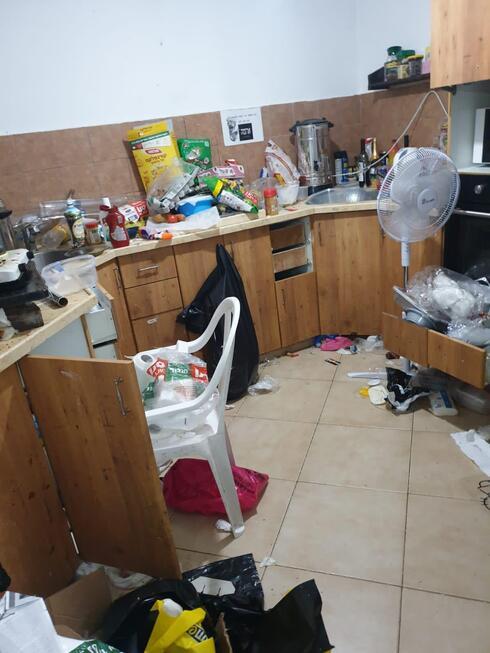 כך נראה הבית לפני השיפוץ