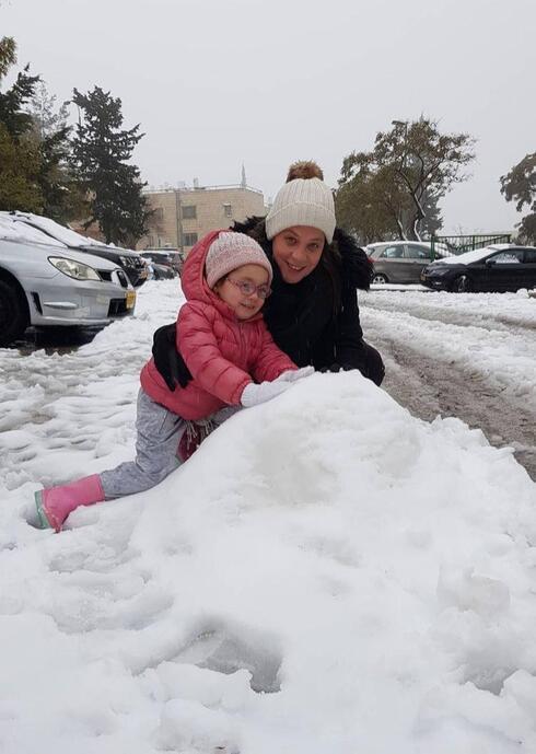עינב בר כהן ובתה