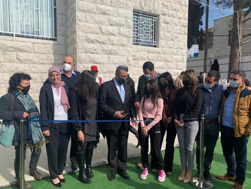 חניכת מרכז הצעירים החדש בשכונת שועפאט