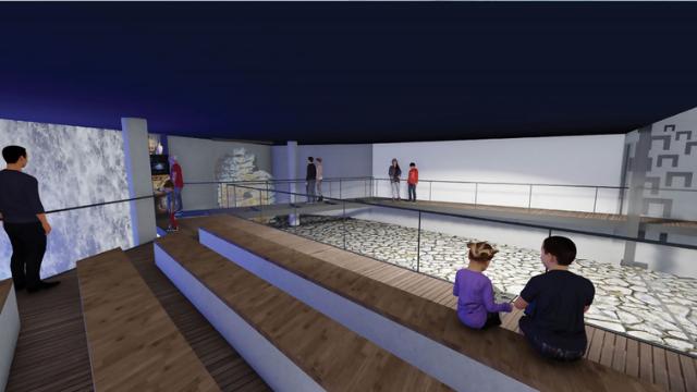 כך ייראה מרכז המבקרים החדש