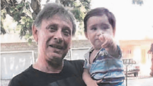 זוכוביצקי והנכד בארגנטינה, 2018