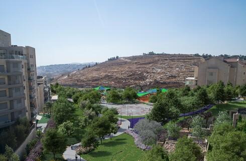 הפארק החדש שייבנה בהר חומה