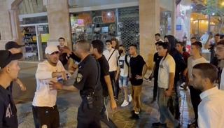 רחוב בן יהודה, הלילה