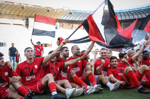 הפועל ירושלים כדורגל העפילו לליגת העל