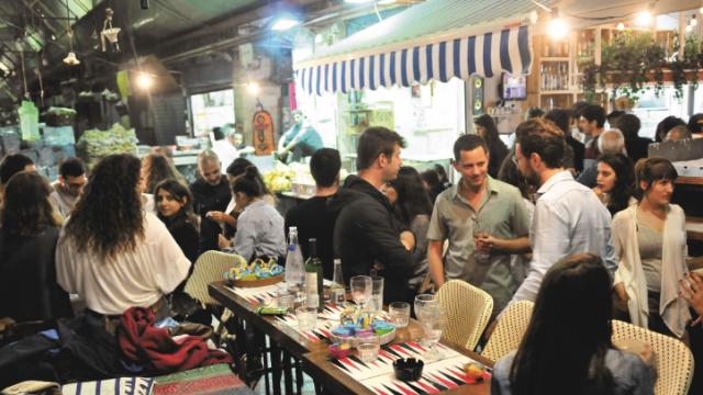 בילוי לילי בשוק מחנה יהודה