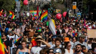 מצעד הגאווה בירושלים 2021