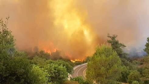 השריפות בהרי ירושלים