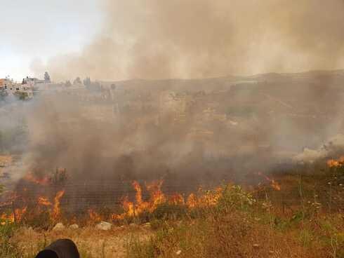 השריפה בהר רוח, סמוך לנווה אילן