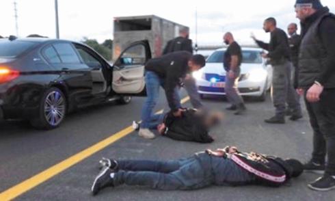 אחד המעצרים שבוצעו בפרשה 216