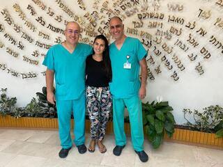המטופלת והרופאים