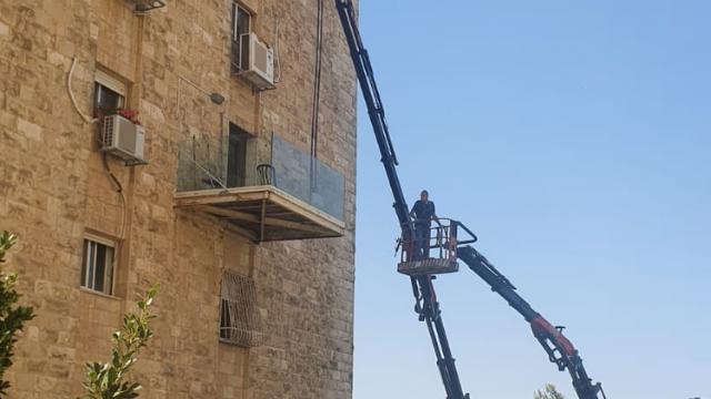 המרפסת שפורקה