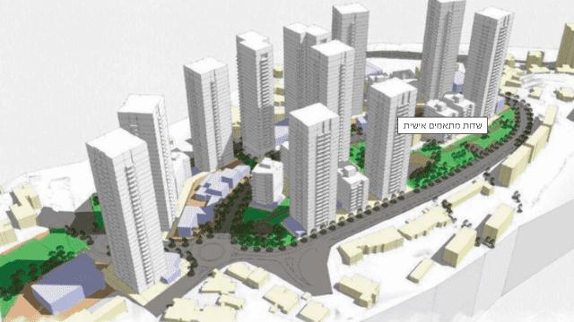 פרויקט ההתחדשות הגדול בעיר ברחוב הנורית