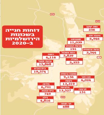 דוחות חניה בשכונות הירושלמיות