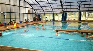 בריכת בית טיילור. צילום: מתוך עמוד הפיסבוק של הפועל יובלים בית הספר לשחייה