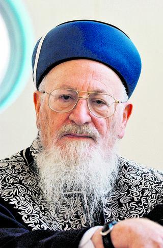 """הרב אליהו ז""""ל. צילום: ראובן שורץ"""