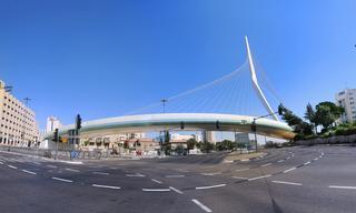 גשר המיתרים. צילום: יואב פרידלנדר