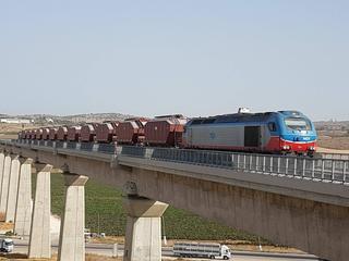 """נסיעות """"הגיהוץ"""" של הרכבת. צילום: עמוד הפייסבוק של ישראל כץ"""