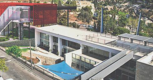 תחנת הרכבל מעל גיא בן הינום. הדמיה: הרשות לפיתוח ירושלים