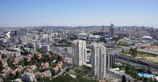 הבניינים בכניסה לעיר. הדמיה: האדריכל בועז ביטמן