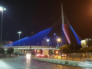 גשר המיתרים. צילום: באדיבות עיריית ירושלים