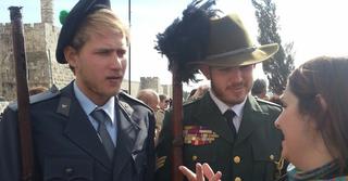 חיילים בריטיים. צילום: עומר נצר