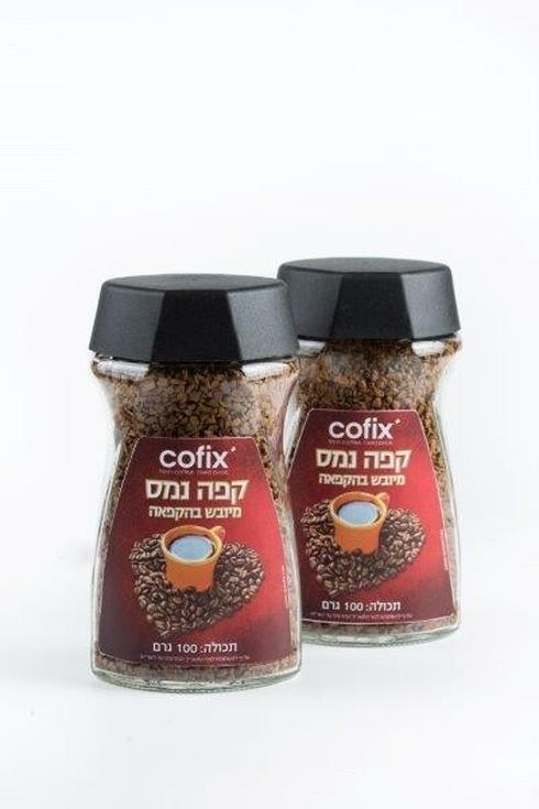 """מותג הקפה של קופיקס. יח""""צ"""
