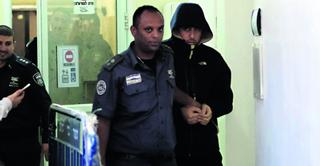 עדי בבית המשפט. צילום: יואב דודקביץ'