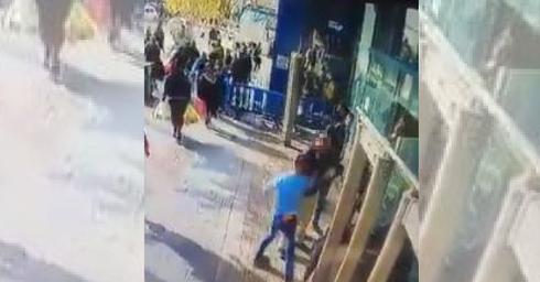תיעוד הפיגוע בתחנה המרכזית
