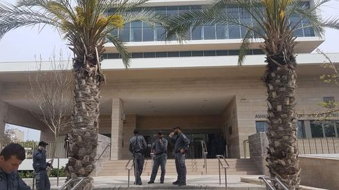 """בית משפט השלום אשקלון. צילום: דוברות זק""""א"""