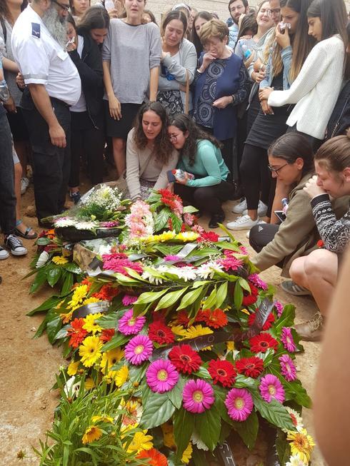 """הלוויה של אלה אור ז""""ל. צילום: ליהי שי שקלרניק"""