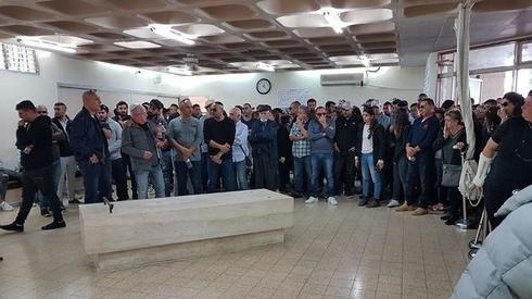 """הלוויה של יעל סדן ז""""ל. צילום: יואב דודקביץ'"""