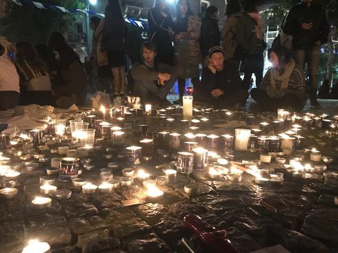 כיכר ציון, אמש. צילום: רועי אלמן