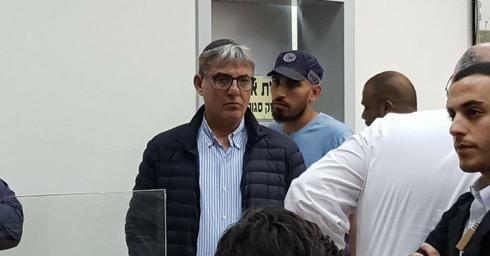 מאיר תורג'מן בהארכת המעצר. צילום: ליהי שי שקלרניק