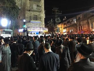 הפגנה בכיכר השבת. צילום: לירן תמרי