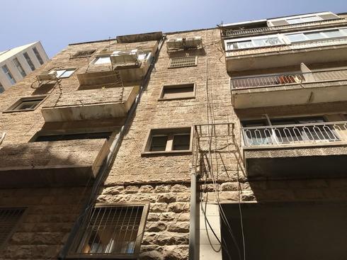 הבניין ברחוב שמאי. צילום: לירן תמרי